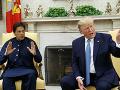 Donald Trump a Imran Chán