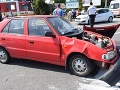 Vodič (28) nezastavil na stopke: Nehoda v Rimavskej Sobote si vyžiadala viacero zranených