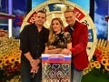 Martin Nikodým s Danom Danglom a Adelou Banášovou v šou Milujem slovensko.