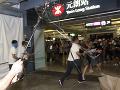 Hongkongská polícia zadržala šesť
