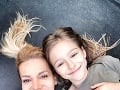 Dara Rolins s dcérou Laurou.