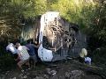 Horor na dovolenke v Turecku: VIDEO Autobus s Poliakmi skončil v priekope, medzi zranenými sú aj deti