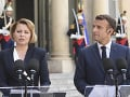 Zuzana Čaputová a Emmanuel Macron