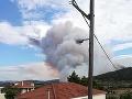 Na snímke požiar v Asopii.