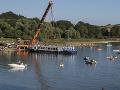 Šťastný koniec po 26. rokoch: Loď Bohemia sa vrátila na Domašu, vítali ju tisíce ľudí