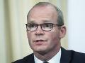 Írsky minister Coveney si myslí, že Johnson zámerne zaviedol Britániu na cestu zrážky