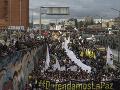 Tisíce ľudí vyšli do ulíc Kolumbie: Protestovali proti vraždám aktivistov