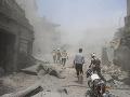Samovražedný útočník zabil v meste Dará šiestich provládnych vojakov