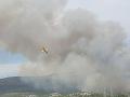 Pohotovosť v obľúbenej destinácii: VIDEO Pri Šibeniku vypukli dva lesné požiare