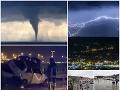 Európu zasiahli búrky ako z apokalyptického filmu! VIDEO Tornádo v Chorvátsku, smrť aj obrovské škody