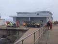 Desivá dráma na hrádzi: Muž zachránil dieťa pred utopením, sám sa zasekol medzi balvanmi