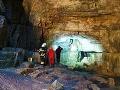 Horskí záchranári opäť pomáhali: V Demänovskej ľadovej jaskyni sa poranila česká turistka