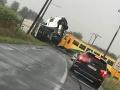 Vlak sa zrazil s kamiónom na železničnom priecestí