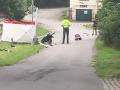 Obrovská tragédia v Humpolci: Auto zmietlo kočík s dvoma deťmi, jedno zomrelo