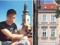 Hostia kaviarne v Záhrebe začuli divný zvuk: VIDEO To, čo spadlo na chodník, ich šokovalo