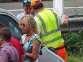 Kateřina Brožová búrala na českej diaľnici s ďalšími tromi vozidlami.