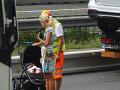 Pri autonehode sa podľa vyjadrenia Kateřiny Brožovej, našťastie, nikto nezranil.