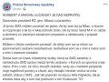 Stanovisko Milana Lučanského k zverejneným správam.