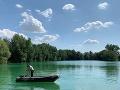 Zo Zelenej vody pri Bratislave vytiahli ľudské telo: FOTO Nie je známe, či ide o muža alebo ženu
