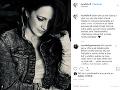 Lucie Bílá sa o svoju bolesť podelila s fanúšikmi prostredníctvom svojho Instagramu.