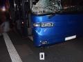 FOTO Zrážku s autobusom neprežil muž (†49): Vodič nehode nedokázal zabrániť