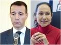 Tomáš Drucker a Lucia Kurilovská