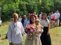 David Škach s manželkou a dcérkou Majou.