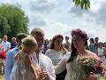 Na svadbe nechýbala ani malá dcérka Maja.