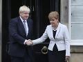 Johnson má ďalší dôvod na obavy: Aj škótska premiérka podporí hlasovanie o nedôvere