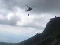 Zranené turistky v Tatrách potrebovali pomoc: Zasahovať museli horskí záchranári aj vrtuľník