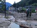 Apokalyptické zábery z Talianska: VIDEO Horskú dedinu zavalilo po dažďoch, obrovské škody a evakuácia