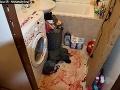 Krvavý masaker v Nových Zámkoch: FOTO Exmanžel zaútočil v kúpeľni
