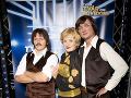 Zuzka Šebová sa už v šou ukázala s manželom Michalom Kubovčíkom a kolegom Danom Heribanom ako skupina Modus.