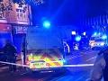Policajt sa snažil zastaviť dodávku: FOTO Nahnevaný muž ho bodol mačetou, vzali ho už do väzby