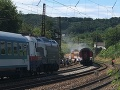 Vlak horel medzi stanicami Bratislava – Vinohorady a Hlavnou stanicou