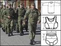 FOTO Najväčší nákup oblečenia v armáde za posledné roky: Štyri milióny za gaťky, podprsenky a bundy!