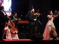 Vanessa Šarköziová na bratislavskom koncerte s Cigánskymi diablami.