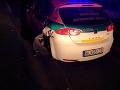 FOTO Muž sadol za volant s dvomi promile: Autom napálil rovno do policajného auta