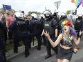 Pochod sexuálnych menších v Poľsku: Prebehnúť musel za asistencie policajtov