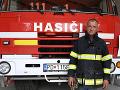Dobrovoľný hasič Igor Baroš.