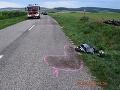 Desivá nehoda neďaleko Skalice: FOTO Motorka vyletela do poľa! Muž skončil s ťažkými zraneniami