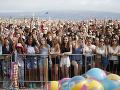 Zábery z odovzdávania cien Teen Choice Awards.