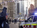 VIDEO Krvavý incident v centre Sydney: Muž dobodal ženu, pokrikoval pri tom Alláhu akbar