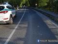 Zrážka dvoch osobných áut v Prievidzi: Zranili sa dvaja chodci