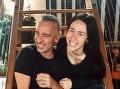 Eros Ramazzotti so svojou najstaršou dcérou Aurorou.
