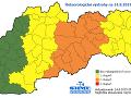 Časť Slovenska zasiahne v stredu dážď.