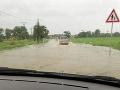 Povodeň na východnom Slovensku