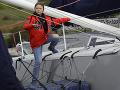 Aktivistka Thunbergová vyplávala na jachte do USA