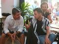 David Hartl a Matej Marušin z televíznej trilógie Trhlina.