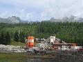 Vedľa areálu skokanských mostíkov stavajú vyhliadkovú vežu